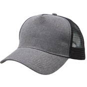 Heathered Mesh Trucker