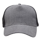 Heathered Mesh Trucker with Supacolour Printing - FULL COLOUR