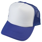 Royal Blue Truckers Cap - Mesh Back