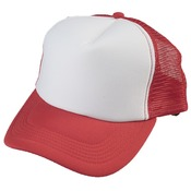 Red Truckers Cap - Mesh Back