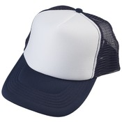 Navy Truckers Cap - Mesh Back